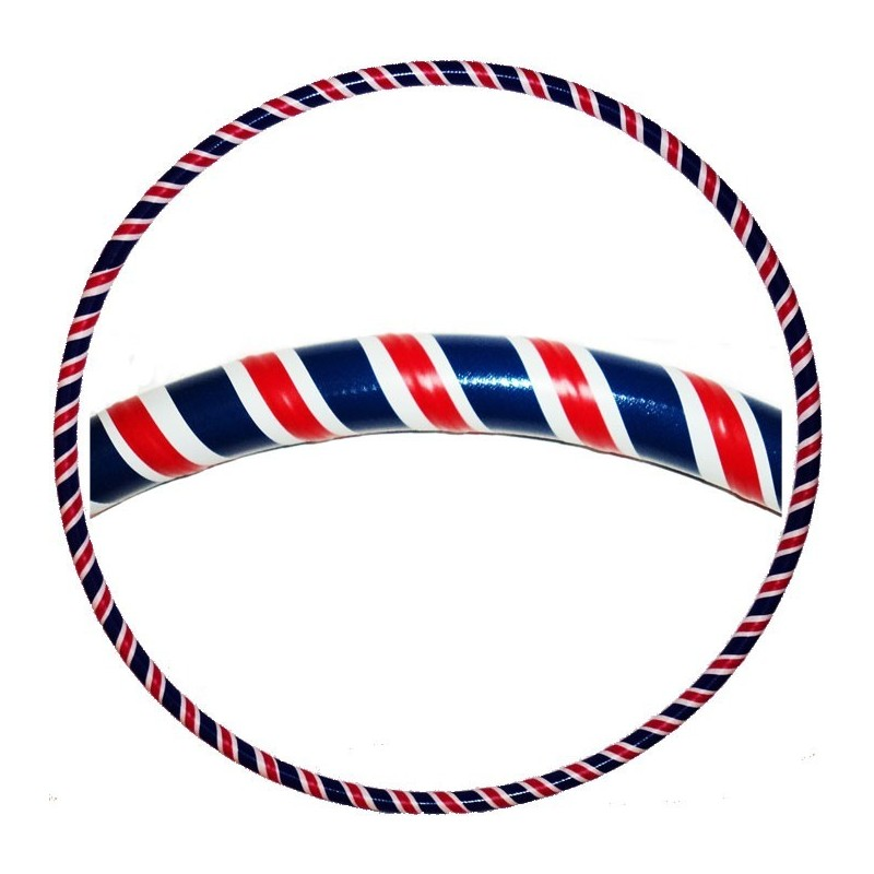 Hooping4Life Union Jack weighted exercise & dance Hula Hoop