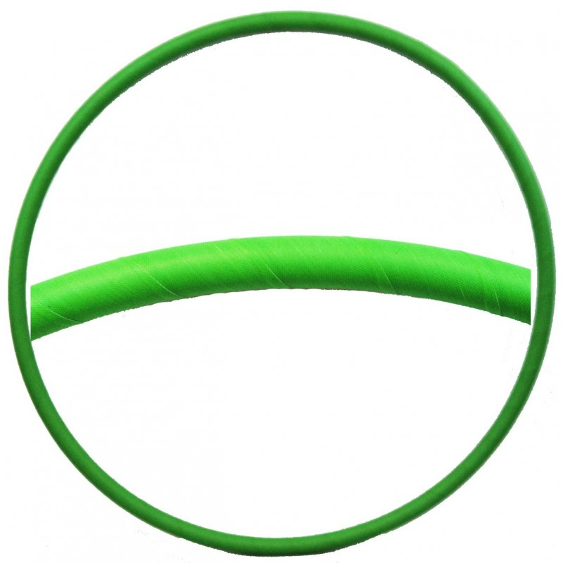 Hooping4Life Fluorescent Green weighted exercise & dance Hula Hoop