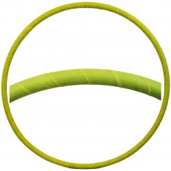 Hooping4Life Fluorescent Yellow weighted exercise & dance Hula Hoop