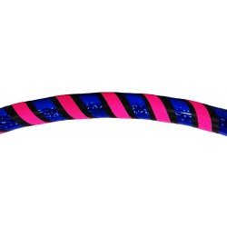H4L Holo Blue & Fluo Pink weighted exercise & dance Hula Hoop